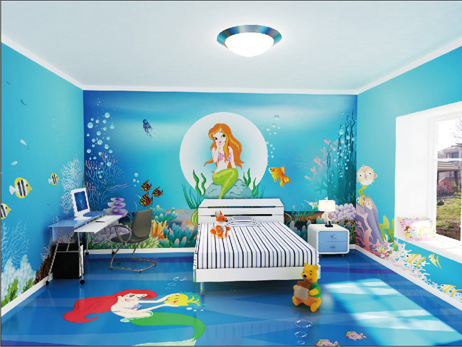 幼儿园海洋大厅装修效果图
